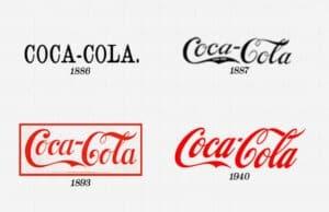 Coca-Cola-Evoluzione-Logo