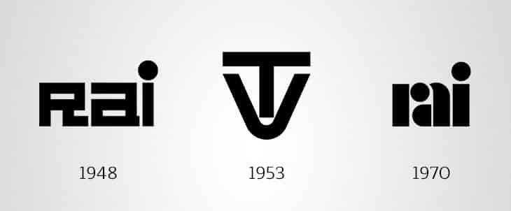 Storia Logo Rai