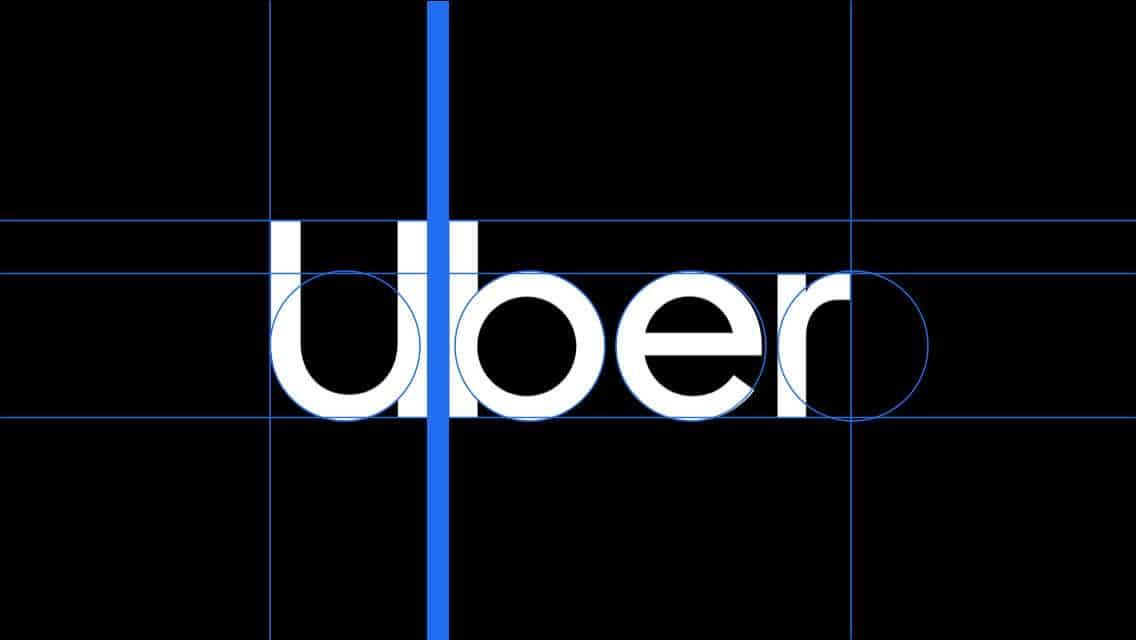 Cstruzione logo Uber