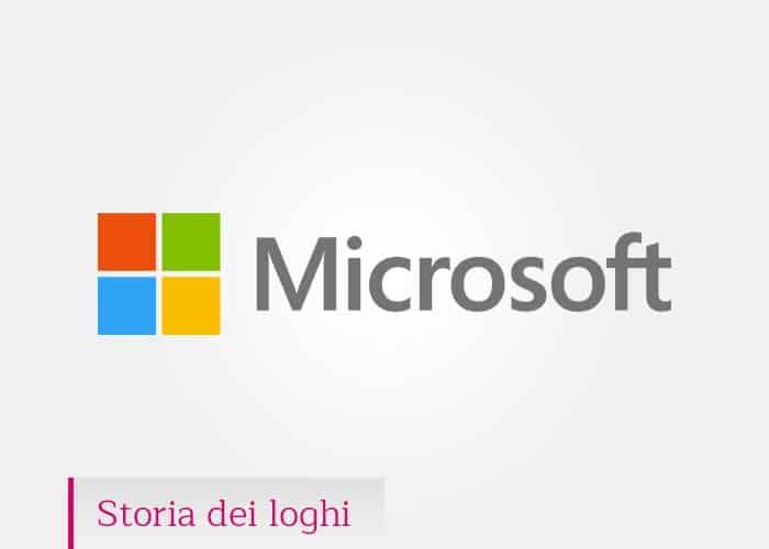 Microsoft: la storia del logo