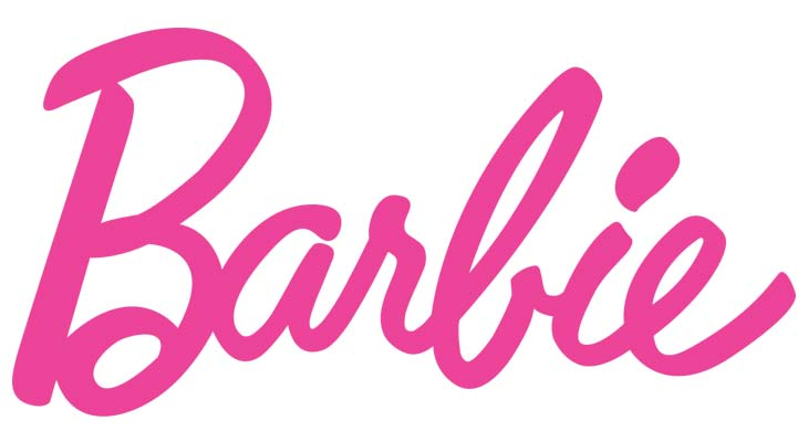 Il primo logo Barbie