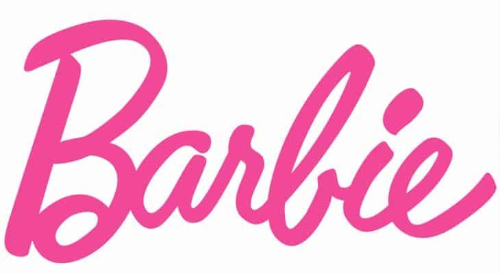 Il logo Barbie oggi