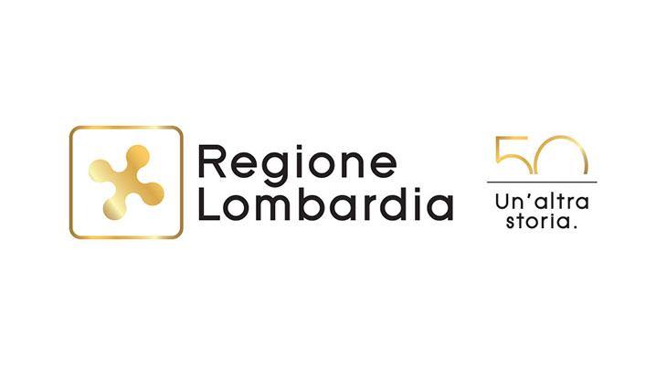 Logo anniversario regione lombardia