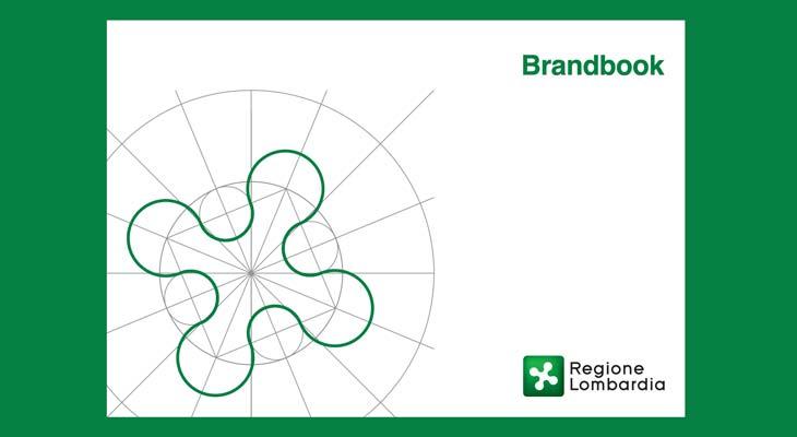 brand book del logo della regione lombardia