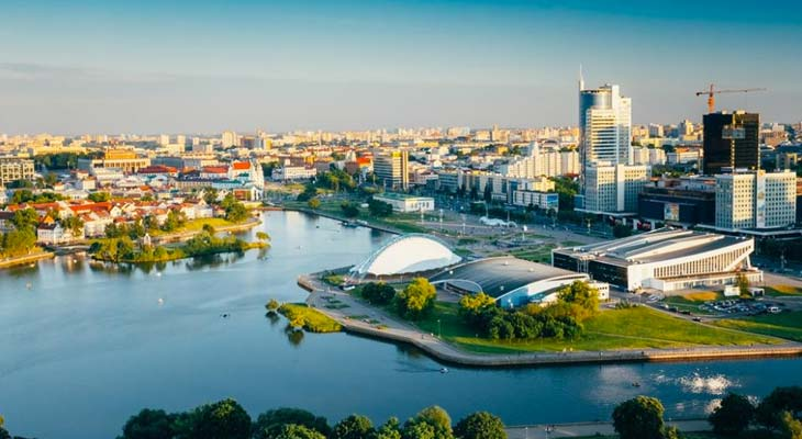 LA città di Minsk
