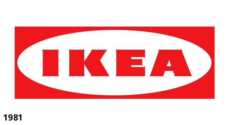 Logotipo Ikea 1981