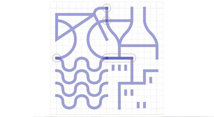 Griglia logo di Porto