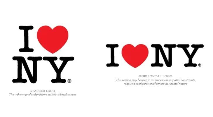 Milton Glaser, logo New York