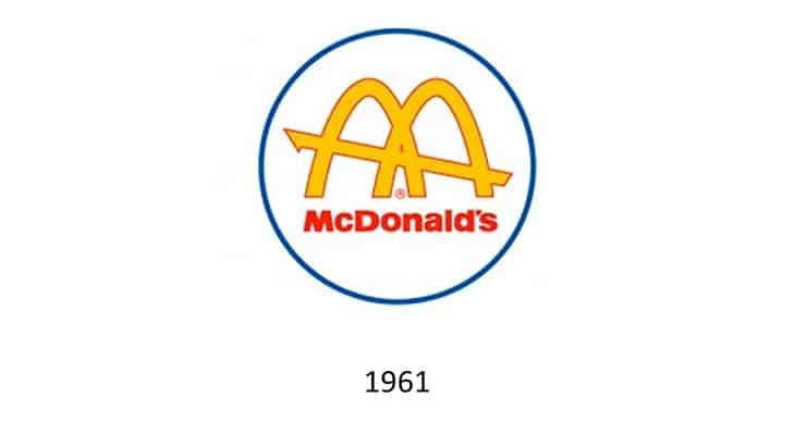 Nascono gli archi dorati del logo McDonalds