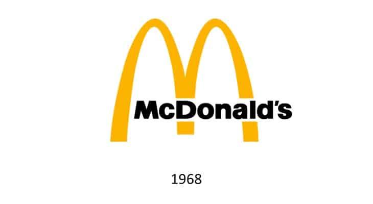 Logo McDonald's 1968