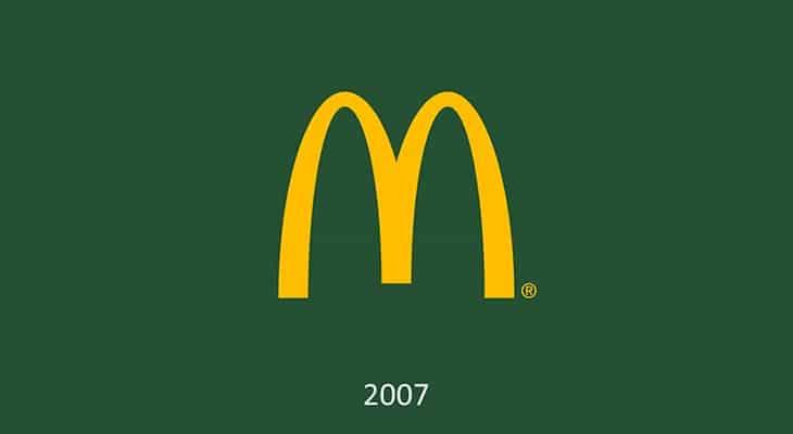 Il logo McDonald's oggi