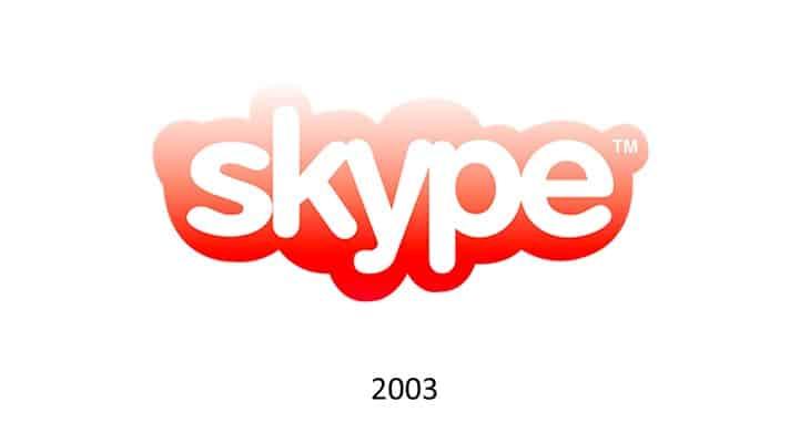 Logo Skype nel 2003
