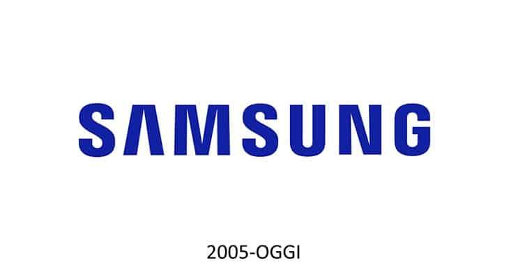 Logo Samsung 2005