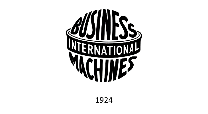 Logo IBM 1924