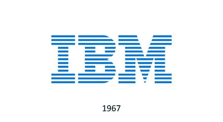 Logo IBM 1967