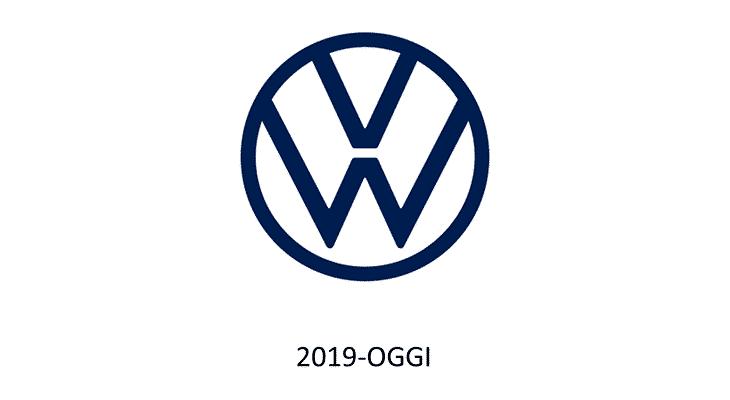 Rebrand Logo Volkswagen 2019