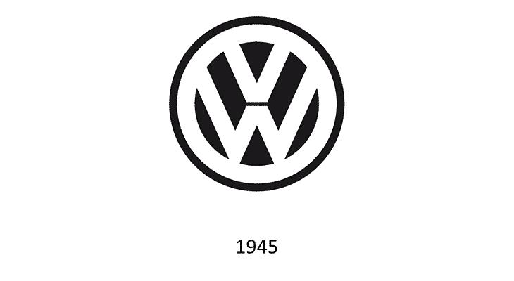 Logo Volkswagen 1945