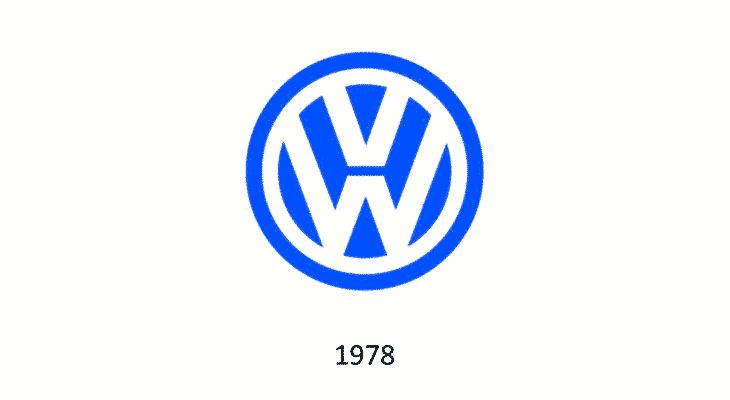 Logo Volkswagen 1978