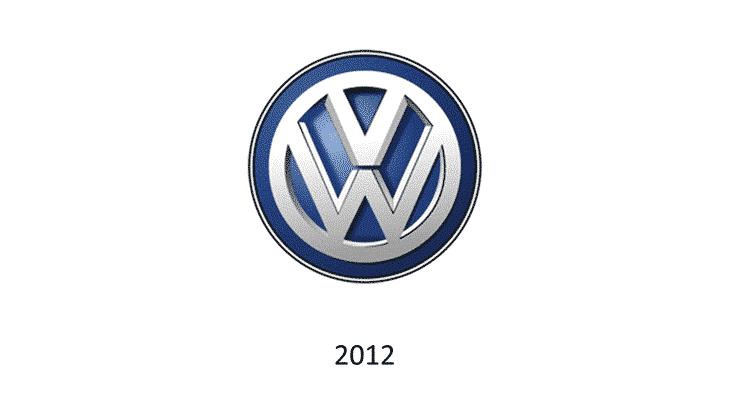 Logo Volkswagen 2012