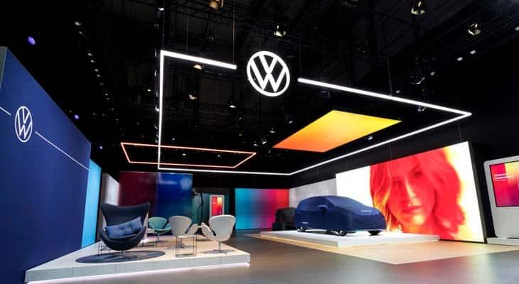 Rebrand Logo Volkswagen