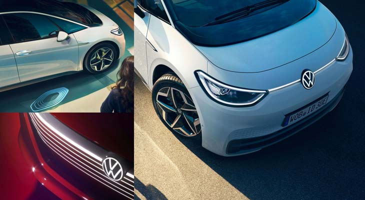 Logo Volkswagen automobili rebrand