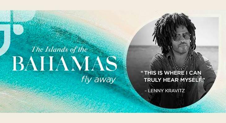 Lenny Kravitz Bahamas ambassador