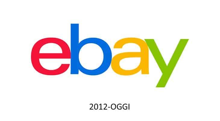 Logo ebay 2012