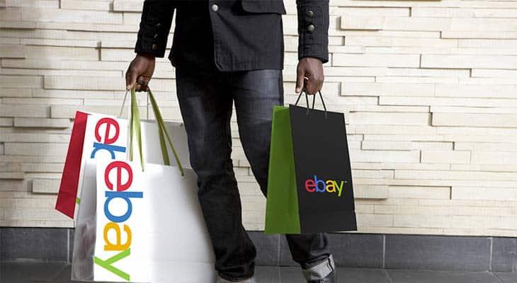 applicazione logo ebay