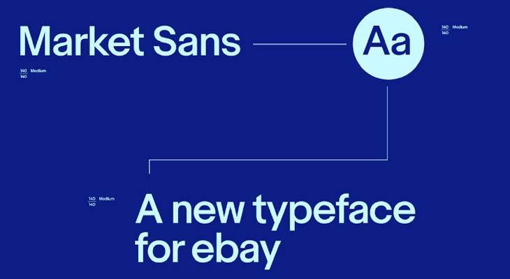 Font Market Sans logo Ebay
