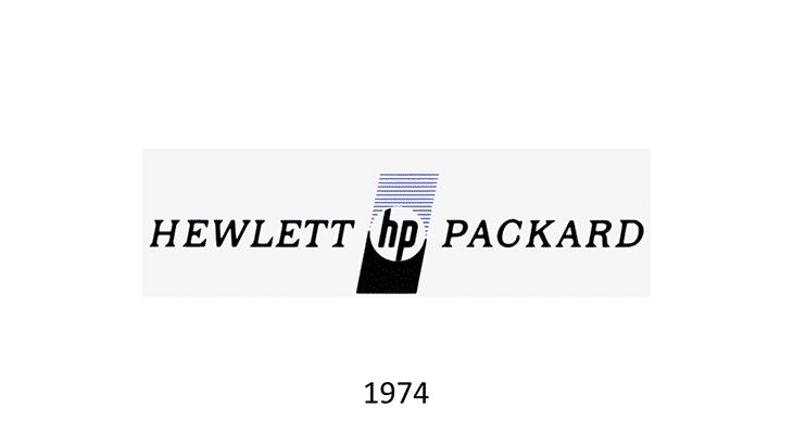 logo hp 1974