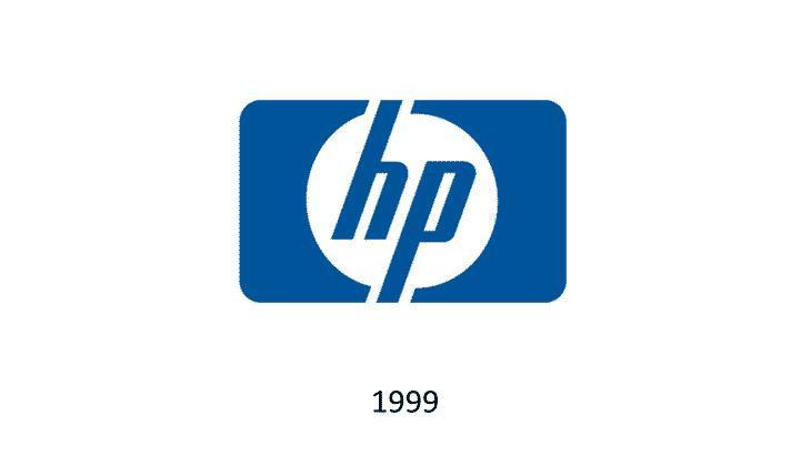 logo hp 1999