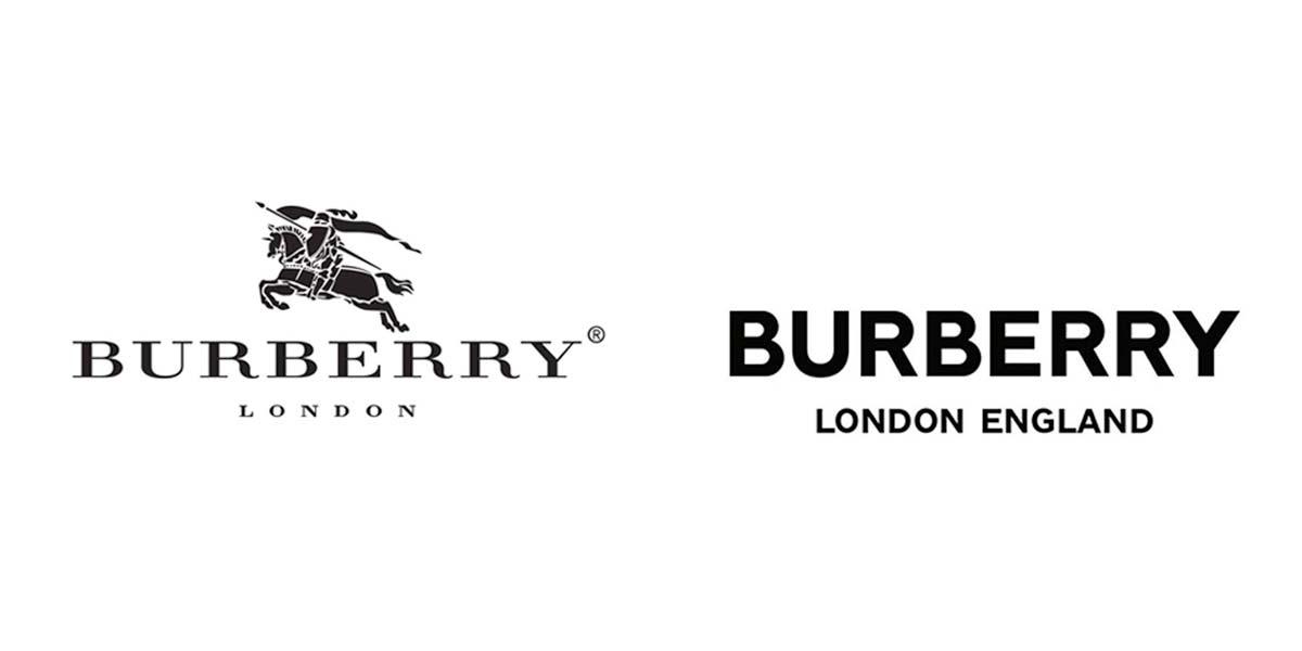 rebranding burberry