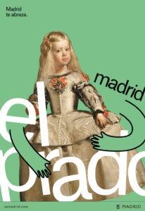 Il logo in versione Museo Del Prado