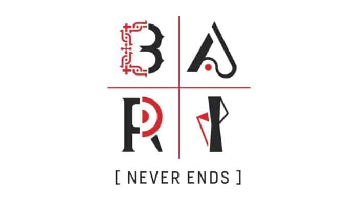 Logo Bari Never Ends