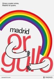Il logo in versione Pride