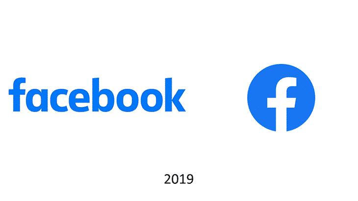 logo facebook 2019