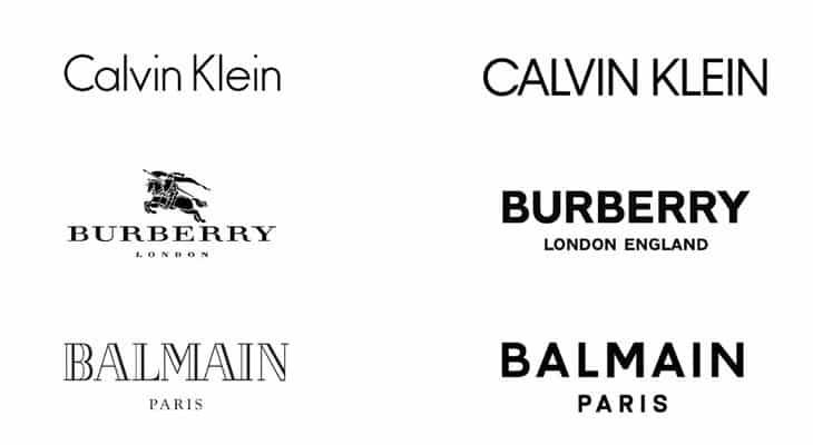 debranding logotipi lusso