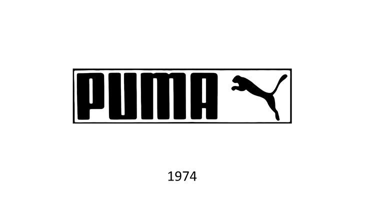 Logo Puma 1974