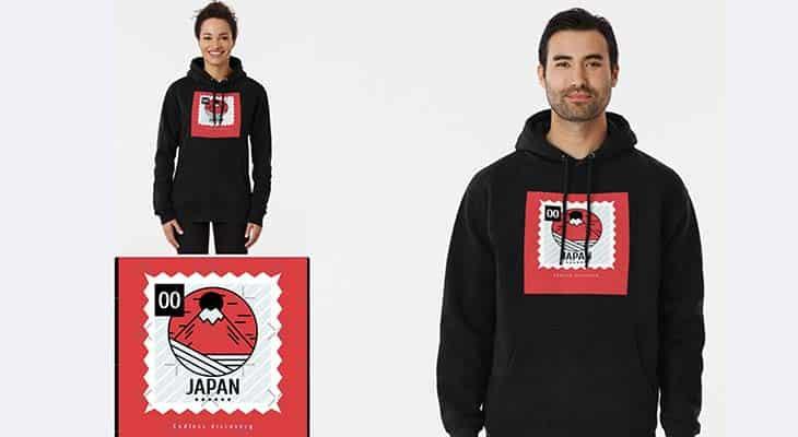 T-Shirt logo Japan