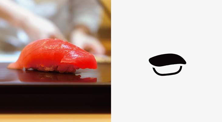 pittogramma sushi Experience Japan